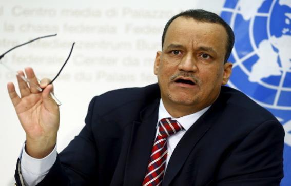 """ولد الشيخ يأمل أن يلهم عيد الفطر اليمنيين على """"تقديم التنازلات"""""""