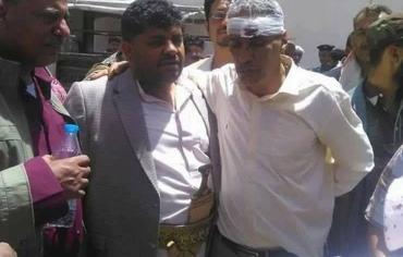 الحوثيون يختطفون حاشد وقطران وعدد من منظمي مظاهرة التحرير