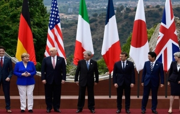 G7 تحث الشرق الأوسط على بذل جهود أكبر ضد داعش وتشدد العقوبات ضد روسيا