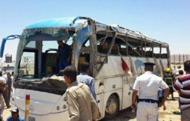 تنظيم داعش الإرهابي يتبنى الاعتداء على الاقباط في مصر