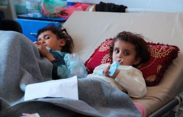 """""""اليونيسف"""": أطفال اليمن في كارثة"""
