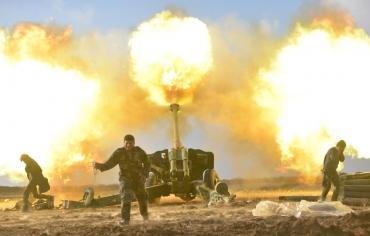 قوات عراقية تستعيد السيطرة على منطقة البعاج الحدودية مع سورية