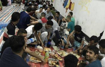 طلبة اليمن في تشانغشا لوحة رمضانية مستوحاة من الوطن