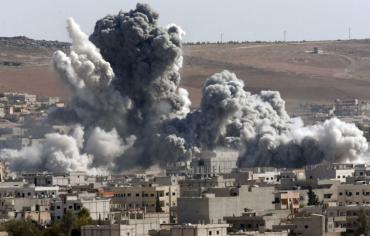 روسيا تنشر صورة تبين نتائج الضربة الجوية التي استهدفت البغدادي