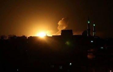 سلاح الجو الصهيوني يشن ثلاث غارات على قطاع غزة