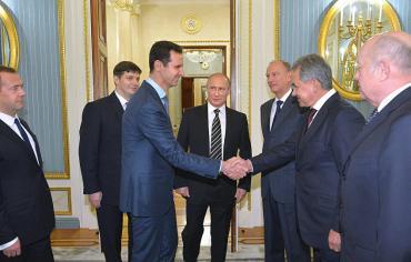 فورين بوليسي :مصير الأسد في يد موسكو