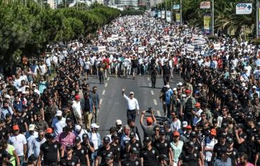 """تجمع ختامي """"للمسيرة من اجل العدالة"""" في تركيا"""