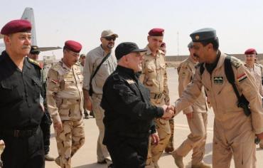 """العبادي يعلن """"النصر الكبير"""" من مدينة """"الموصل المحررة"""""""