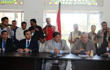 افتتاح المركز الإقليمي المشترك لغرفة عمليات مكافحة الأوبئة بصنعاء