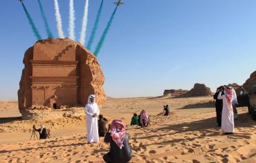 السعودية تبني مدنا في الرمال