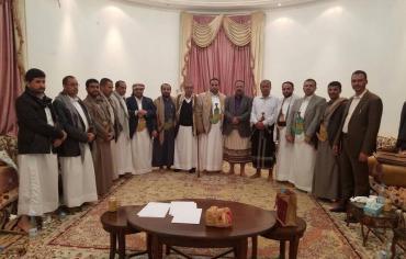 لقاء بين المؤتمر وجماعة الحوثي لبحث اسباب التوتر بين الطرفين