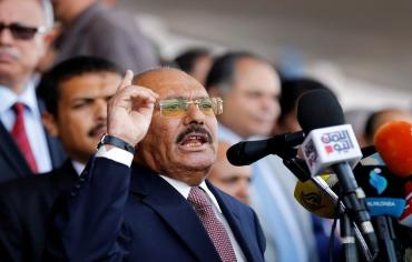 صالح: لايوجد خلاف مع الحوثيين ونمد أيدينا إلى السلام مع دول الجوار