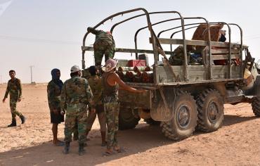 الجيش العربي السوري يفك الحصار عن مطار دير الزور العسكري