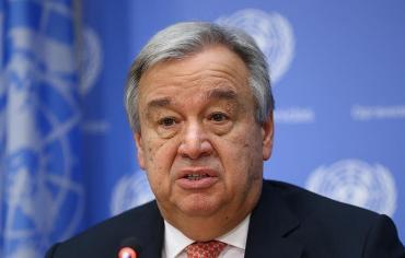 غوتيريش: لا منتصر في اليمن وسوريا وحل الدولتين هو الحل