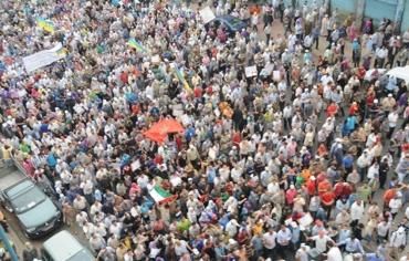 السلطات المغربية تفض بالقوة اعتصاماً على خلفية مقتل بائع السمك