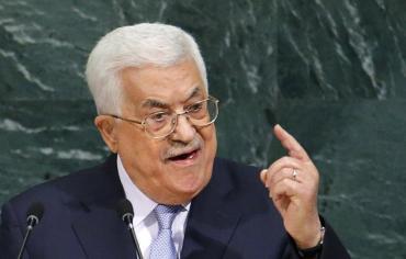"""عباس يطالب بريطانيا بالاعتذار عن """"وعد بلفور"""""""
