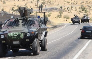 """مقتل جنديين تركيين في عمليات ضد """"بي كا كا"""" جنوب شرقي البلاد"""