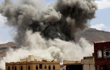 التحالف العربي يشن 20 غارة على 3 محافظات يمنية