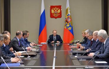 بوتين يبحث مع مجلس الأمن القومي الروسي الوضع في سوريا
