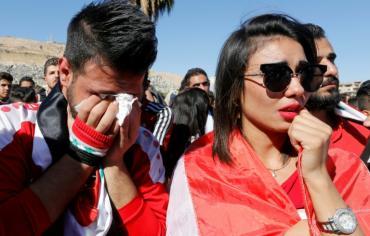 تصفيات مونديال 2018: خيبة أمل ودموع في دمشق بعد الإقصاء
