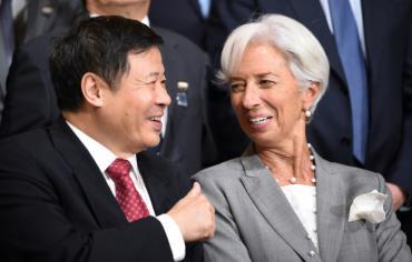 انتعاش اقتصادي مهدد بمخاطر على جدول اعمال اجتماعات صندوق النقد الدولي