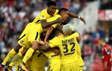 بطولة فرنسا: ثنائية متأخرة لمونييه تنقذ سان جرمان امام ديجون المتواضع