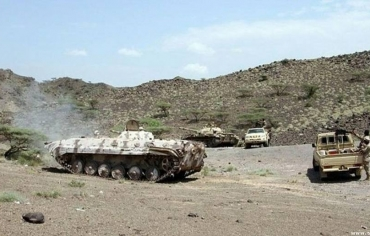 القوات الحكومية اليمنية تفرض سيطرتها على مديرية ذوباب ، ومقاتلي الحوثي يسيطرون على منطقة الجرعوب في متون محافظة الجوف