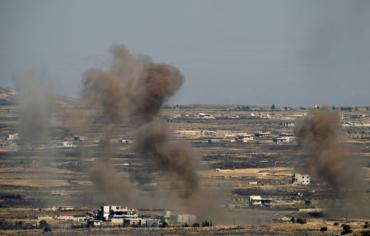 اشتباك جوي سوري - اسرائيلي