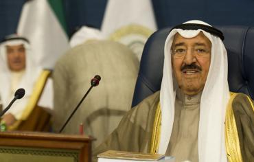 أمير الكويت يشيد بموقف الغانم في إجتماع البرلمان الدولي