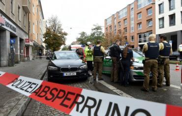 جرح ثمانية اشخاص في هجوم بسكين في ميونيخ وتوقيف المنفذ المفترض
