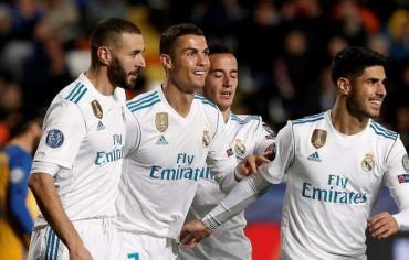 ريال مدريد يصب جام غضبه على أبويل نيقوسيا