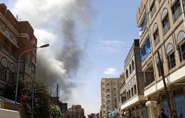 معارك طاحنة في صنعاء بين الحوثيين وصالح