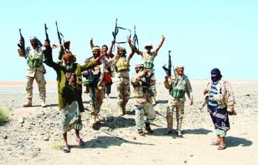 القوات الحكومية اليمنية تطرد الحوثيين من مدينة الخوخة