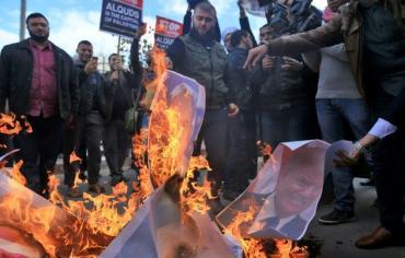 """مقتل فلسطيني في """"يوم الغضب"""" احتجاجا على قرار ترامب حول القدس"""
