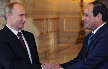 بوتين يبحث مع السيسي غدا العلاقات الثنائية وقضايا المنطقة