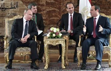 بوتين يتحدث مع السيسي عن نتائج لقائه مع الأسد