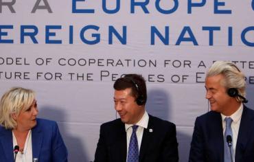 """اجتماع لقادة اليمين يبحثون """"تفكيك"""" الاتحاد الأوروبي وخطر """"الاستعمار الإسلامي"""""""