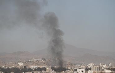 """غارات """"التحالف العربي"""" على أرحب تقتل 5 وتصيب 20 آخرين"""