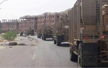 القوات الحكومية اليمنية تتقدم في تعز بإسناد التحالف العربي