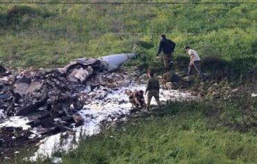 سوريا : الدفاع الجوي يسقط طائرة  أف 16 اسرائيلية