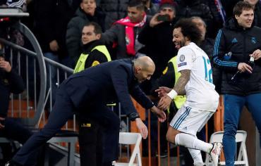 ريال مدريد يحول تأخره لفوز مثير على سان جيرمان في أبطال أوروبا