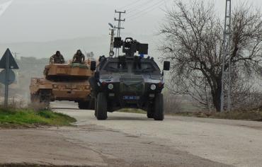 تعرض القوات الشعبية السورية لقصف بعد وصولها لعفرين