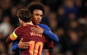 برشلونة ينجز مهمته أمام تشيلسي في لندن