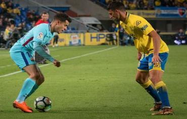 الدوري الإسباني.. برشلونة يتعثر في لاس بالماس