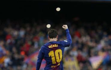 برشلونة يحسم القمة أمام أتلتيكو مدريد بفضل ميسي