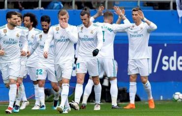 رونالدو ينقذ ريال مدريد من كمين إيبار