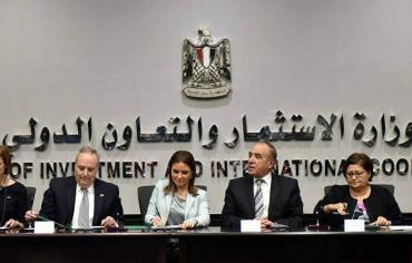 مصر وأمريكا توقعان منحة لدعم المتضررين  شمالي سيناء