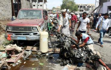 ستة قتلى في هجوم إرهابي في جنوب اليمن تبناه تنظيم داعش