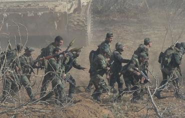 الجيش السوري على مشارف دوما ويطوقها بإحكام