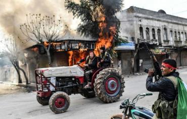 """دمشق تدين """"احتلال"""" تركيا لعفرين وانقرة تتوعد بعمليات أخرى"""